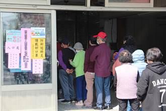 基層農會選舉投票 苗栗戰區出現排隊人潮