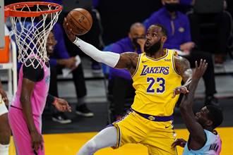 NBA》上季總冠軍賽戲碼重演 這次熱火燒焦湖人