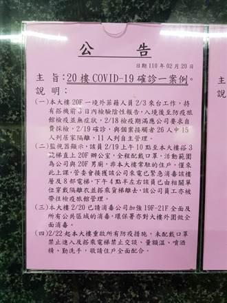 確診者出入台南某大樓 衛生局:無傳染力鹽水蜂炮可辦