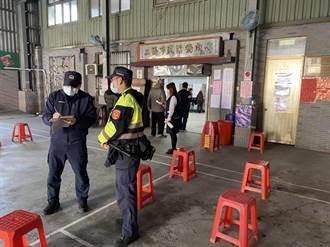 三峽農會改選 分局部署警力維護勤務