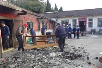 無情大火燒毀舊宅悲情一家人流離失所 慈濟志工重建溫暖家園