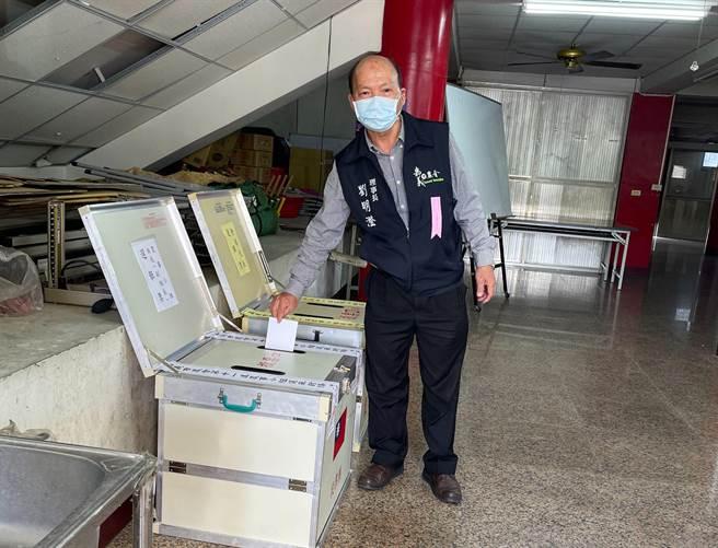 嘉義市農會選舉21日整體投票率僅23.95%,理事長劉明澄指三巨頭可望連任。(嘉義市農會提供/呂妍庭嘉義傳真)