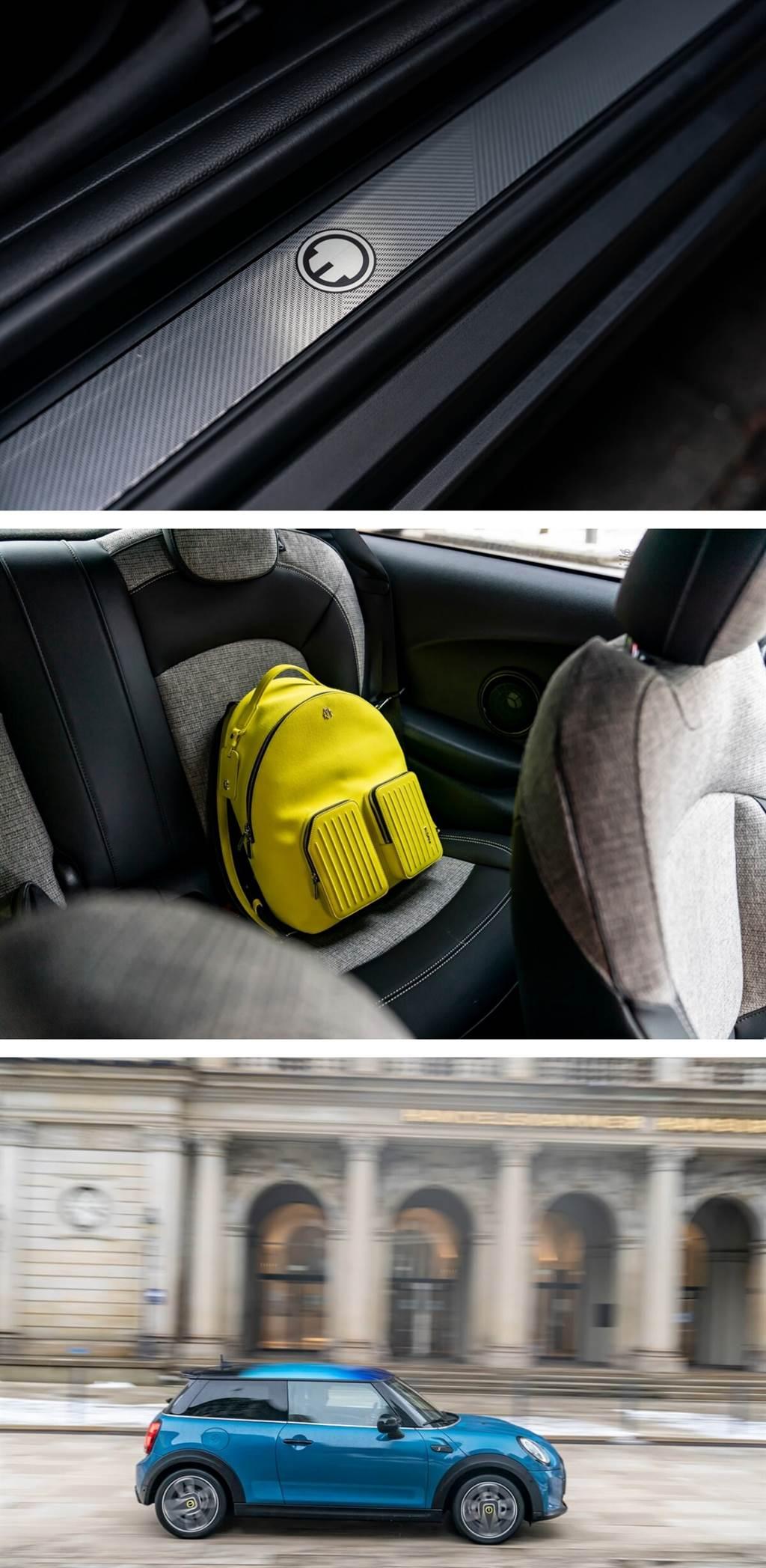 MINI為Cooper SE再添電動駕駛樂趣的獨特新功能和配備