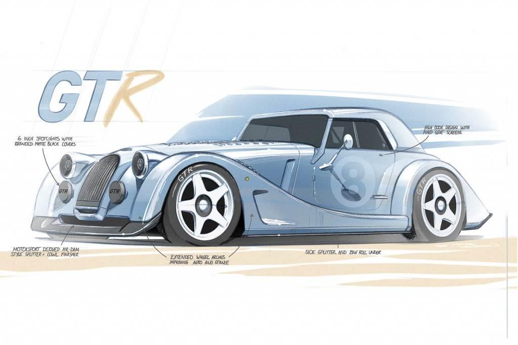 向輝煌的賽車歷史致敬 Morgan宣布啟動Plus 8 GTR製程計畫