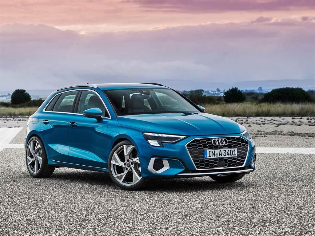 Audi A3 Sportback推出30 TFSI/35 TSFI雙動力,共四車型。