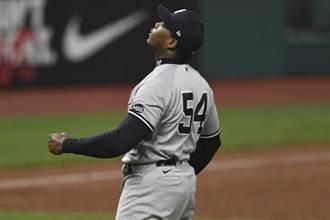 MLB》開導家暴投手 洋基請出「前輩」查普曼