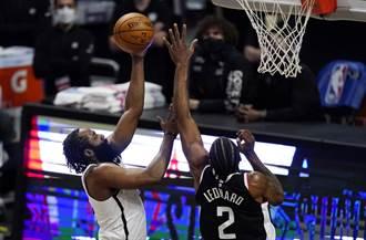 NBA》少杜蘭特沒差 籃網險退快艇摘客場5連勝