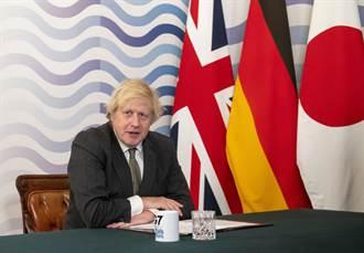 經貿告急扛不起反陸大旗 英首相強森改口自稱熱心親華派