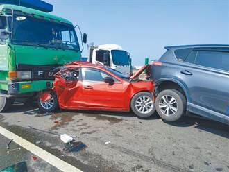 台61西濱重大死傷車禍 308公里僅1支濃霧偵測器