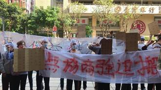 攤商抗議海砂屋市場遭廢 基市府:維護市民安全