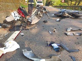 北宜公路疑機車對撞 1死1昏迷