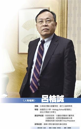 台灣金控董座呂桔誠:台灣今年經濟增速 飛躍4%不是夢