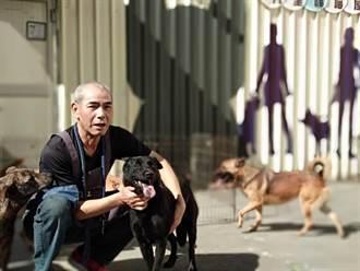 2920天不畏風雨 退休警彭昭左每天騎車到八里動物之家當志工