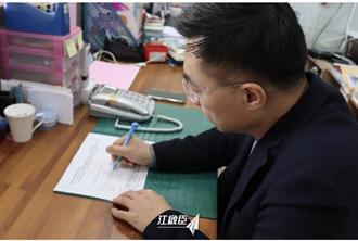 江啟臣連署珍愛藻礁公投成案 呼籲用選票告訴政府、人民期待的未來