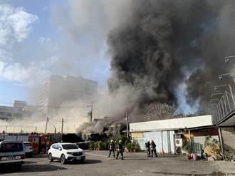 台中太平一處空地火警 已控制火勢無人傷亡