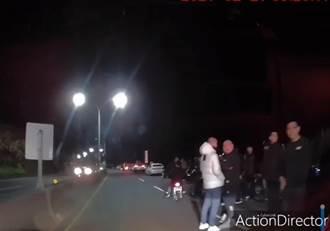 大半夜遇百人群聚封路飆車 送貨司機驚呆:不敢按喇叭