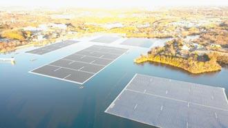 山倉水庫太陽能電廠 成功重建