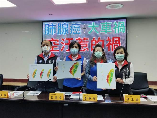 台南市議會國民黨團要求市府,應比照道安會報拉高層級每個月針對空汙品質開會因應,全面啟動霧霾警示及防治之道。(洪榮志攝)