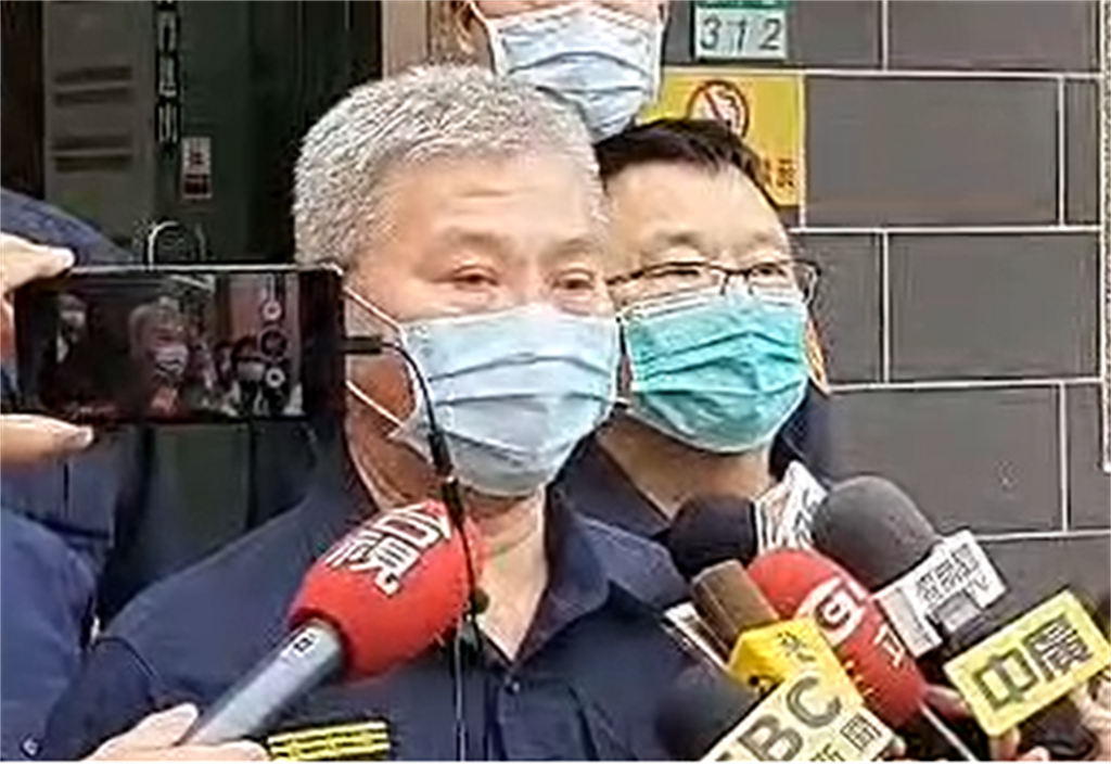 台南市警察局長方仰寧今(24)日出面說明近日台南重大刑案。(讀者提供/程炳璋台南傳真)