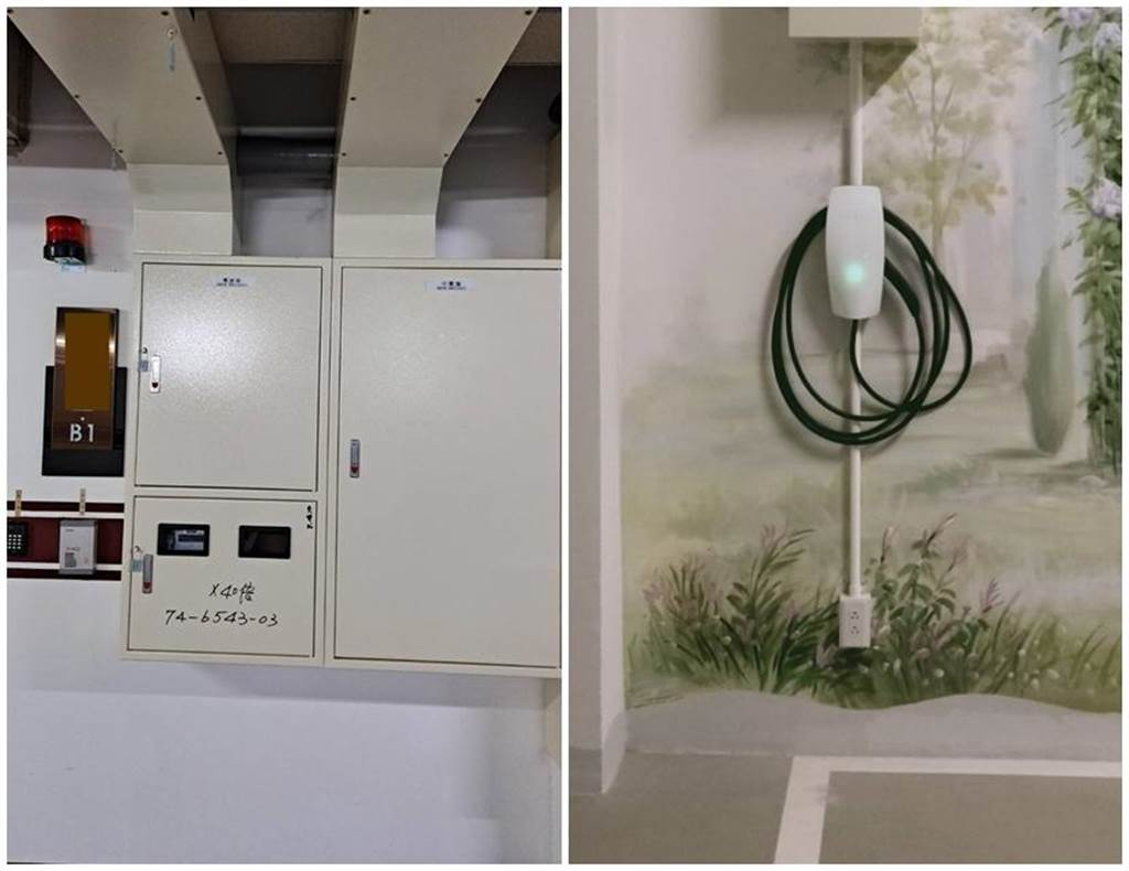 停車場只有公電也不會是問題,透過獨立電表一樣可讓社區輕鬆管理。(案例/鎂瀚潔電科技)
