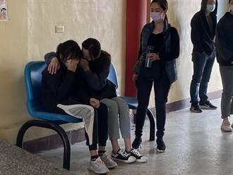 【黑幫亂鬥】角頭陳建文遭槍殺上午相驗 妻女痛哭