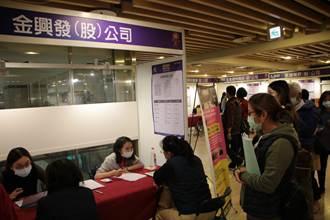 台北市首場中型徵才即將登場  最高月薪上看8萬