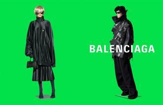 BALENCIAGA反思人工智慧 攜手藝術家約翰·米勒摹寫AI時尚