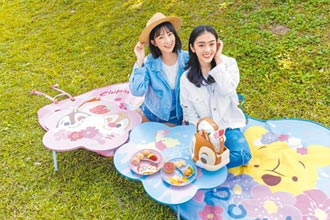 甜點冒粉紅泡泡 櫻花季登場 限定商品迎春
