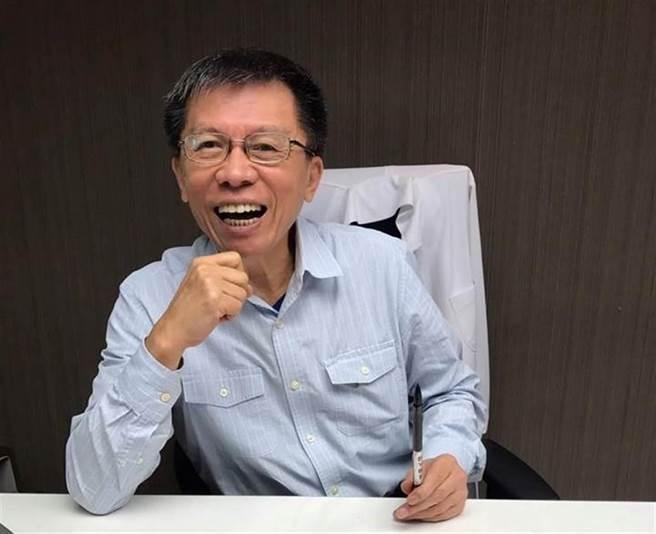 前民进党立委沈富雄。(图/取自沈富雄脸书)