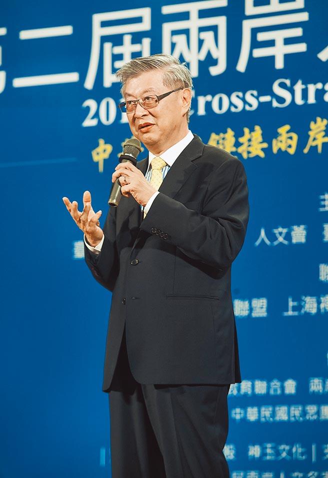 新世代金融基金會董事長陳冲建議台灣政府決策,先進行資訊研析,再做不同場景的成本效益分析,以淡化意識形態。(本報資料照片)