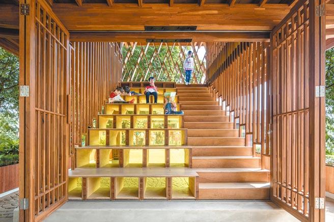 第12屆ArchDaily年度建築大獎揭曉,印尼的微圖書館獲公共景觀項目優選。(取自ArchDaily)