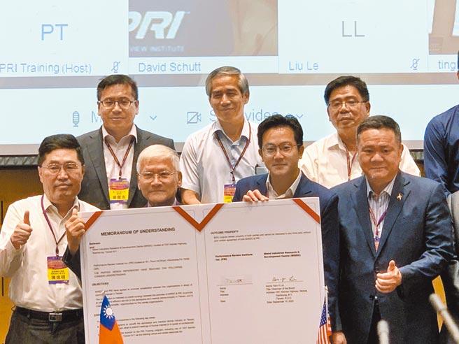 全球航太年會首度移師台灣,高市經發局去年在經濟部傳產創新加值中心舉辦該年會,聚集超過50家航太企業參與。(本報資料照片)