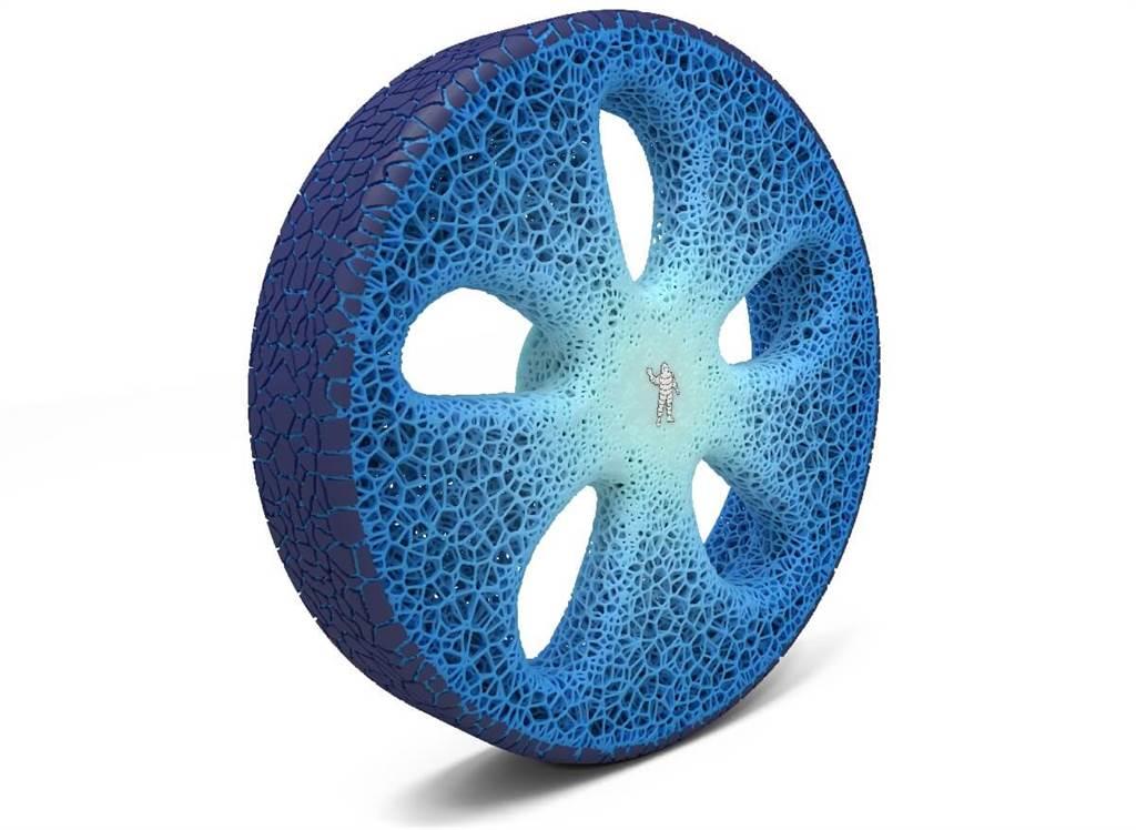 Michelin曾在受2017年推出VISION概念輪胎,其是一種無須氣壓、可聯網、可3D列印更新胎面,以及完全可持續性的未來輪胎。