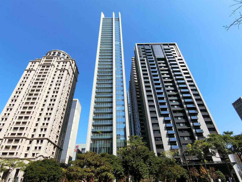 豪宅「宝格」基地部分土地,是台中首見300萬單價的精華地。 (台灣房屋集團趨勢中心提供)