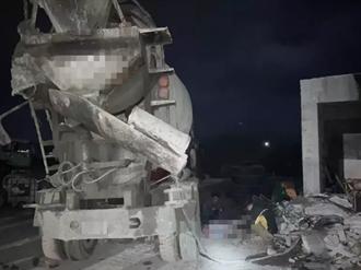 澎湖工安意外 男子洗車不慎跌入預拌混凝土車 當場慘死