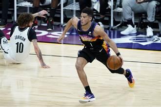 NBA》布克頂替一眉哥打全明星賽 太陽兩人入選