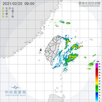 元宵夜東北季風南下  吳德榮:27日新竹以北有局部雨