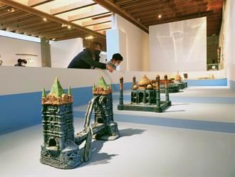 陶博館雙年展看遍世界 中日陶藝家捏出名勝古跡