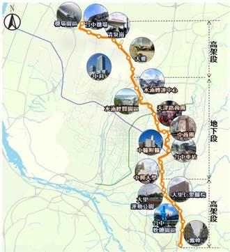 中捷橘線完成可行性評估 全線共設26座車站