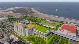 淡水沙崙打造千坪親水設施、星空舞台 2025完工啟用