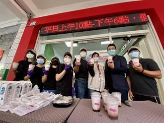 呼籲年輕人捐血 漫時光早午餐店動起來