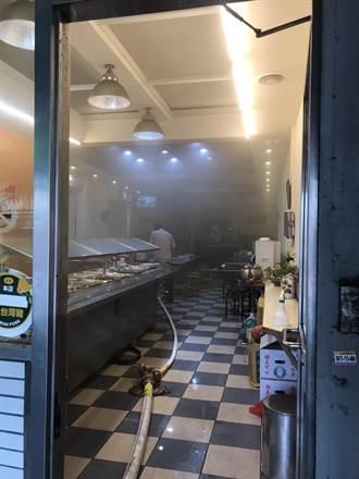 北市自助餐廳起火 老闆娘稱煎蛋忘關火