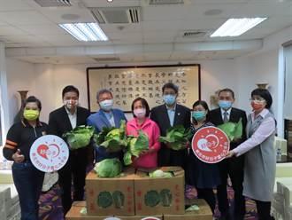 送愛心助農民 新北議長捐600箱高麗菜