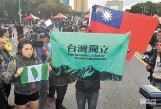 台青統獨傾向 議員爆民調:綠營已被看破手腳