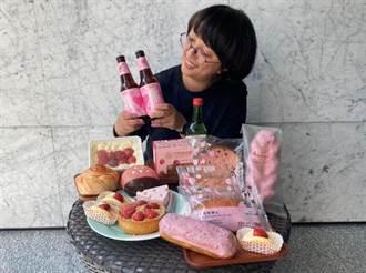 超市、量贩草莓季 营造粉红疗癒感