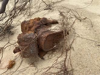 金门又有地雷出土 「船型堡」景点旁发现2枚