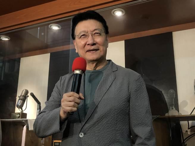 中廣董事長趙少康。(趙婉淳攝)