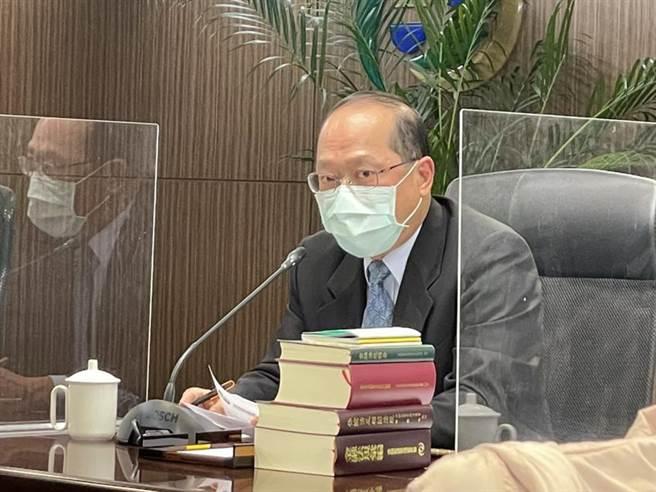 金管會銀行局副局長林志吉。圖/魏喬怡
