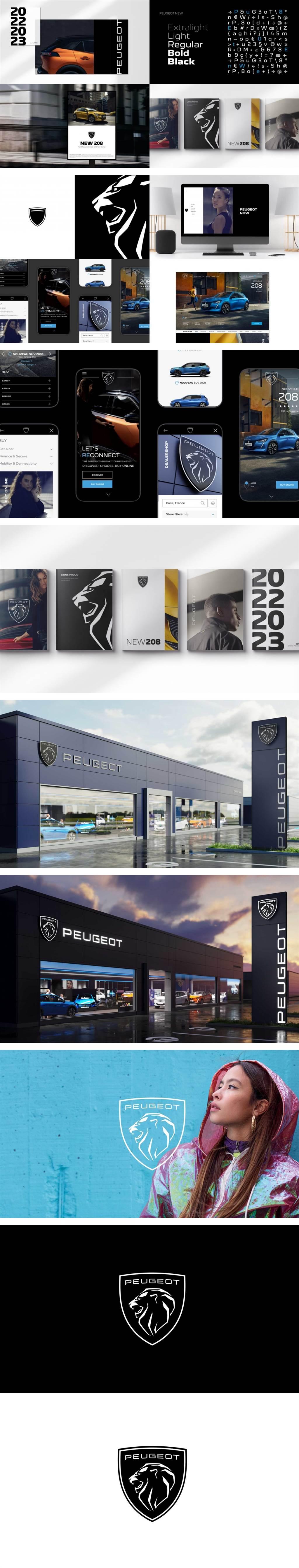 象徵進入高級世代,Peugeot 發表全新雄獅企業識別廠徽與口號!