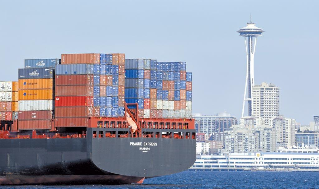 美國西雅圖港。圖/美聯社